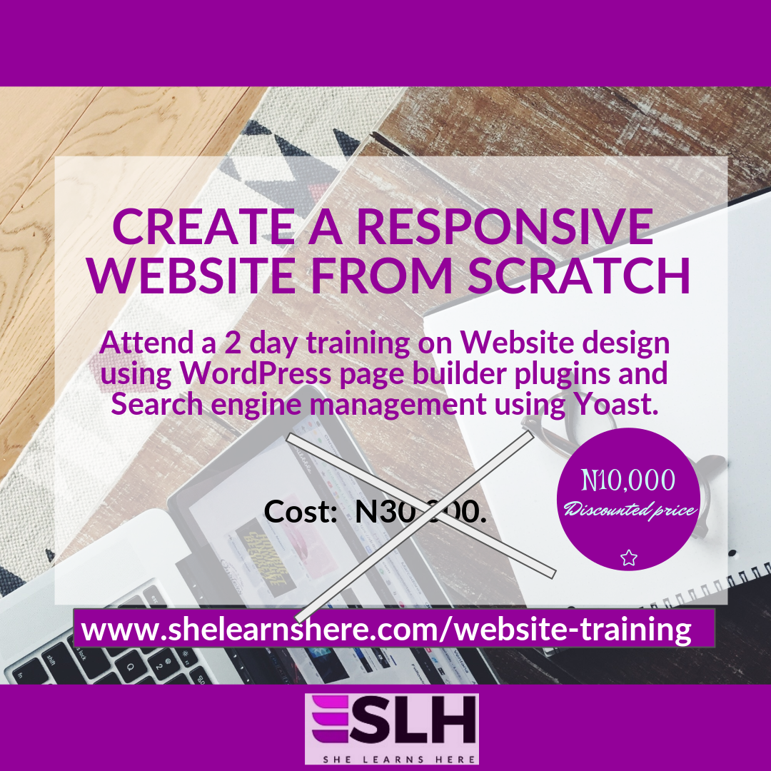 WordPress training in ibadan