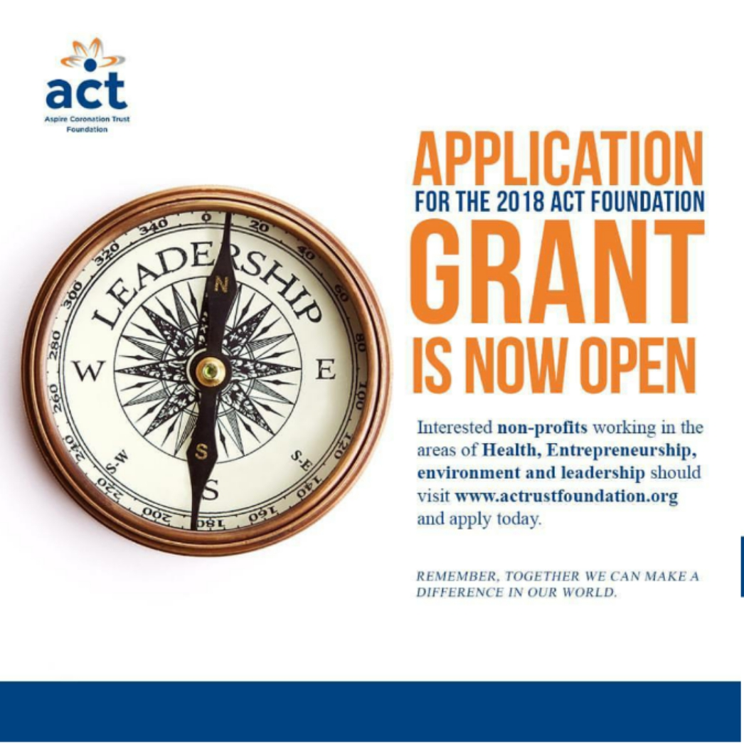 Act foundation grant 2018