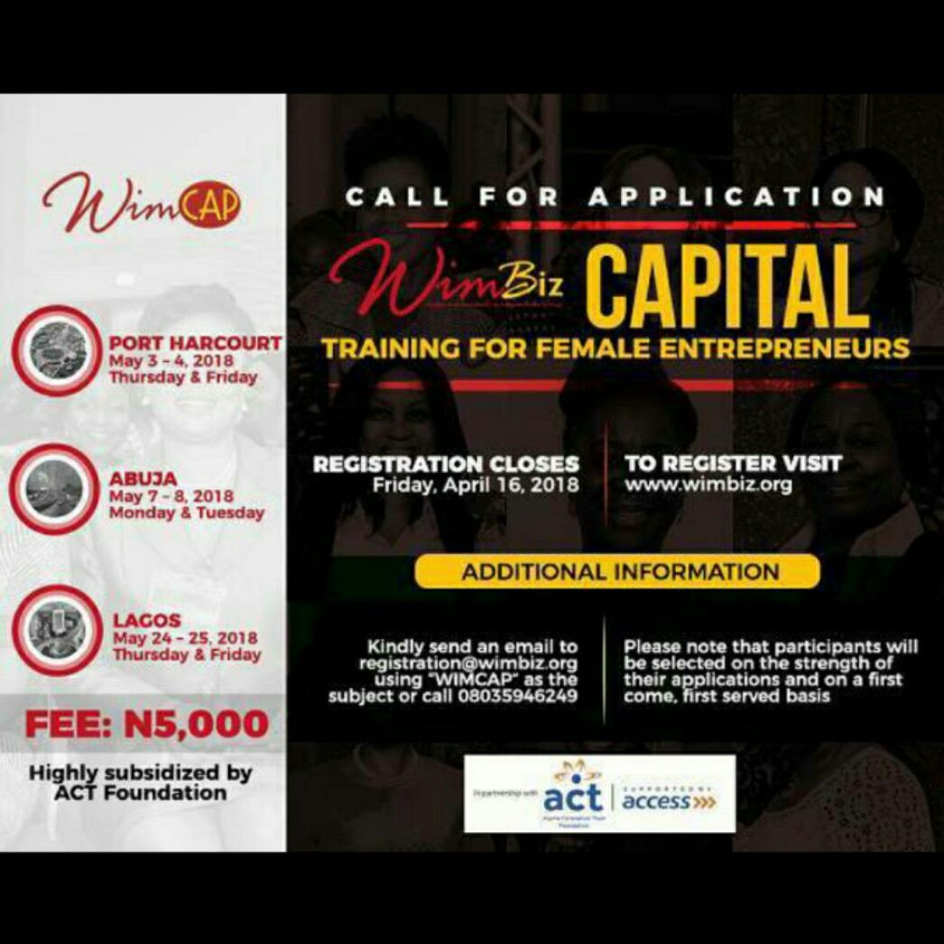 Wimbiz wimcap training