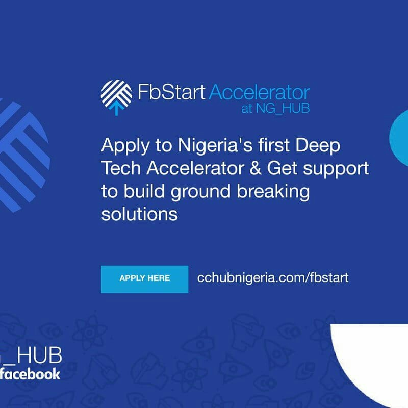 FbStart Accelerator from  Facebook and CcHUB