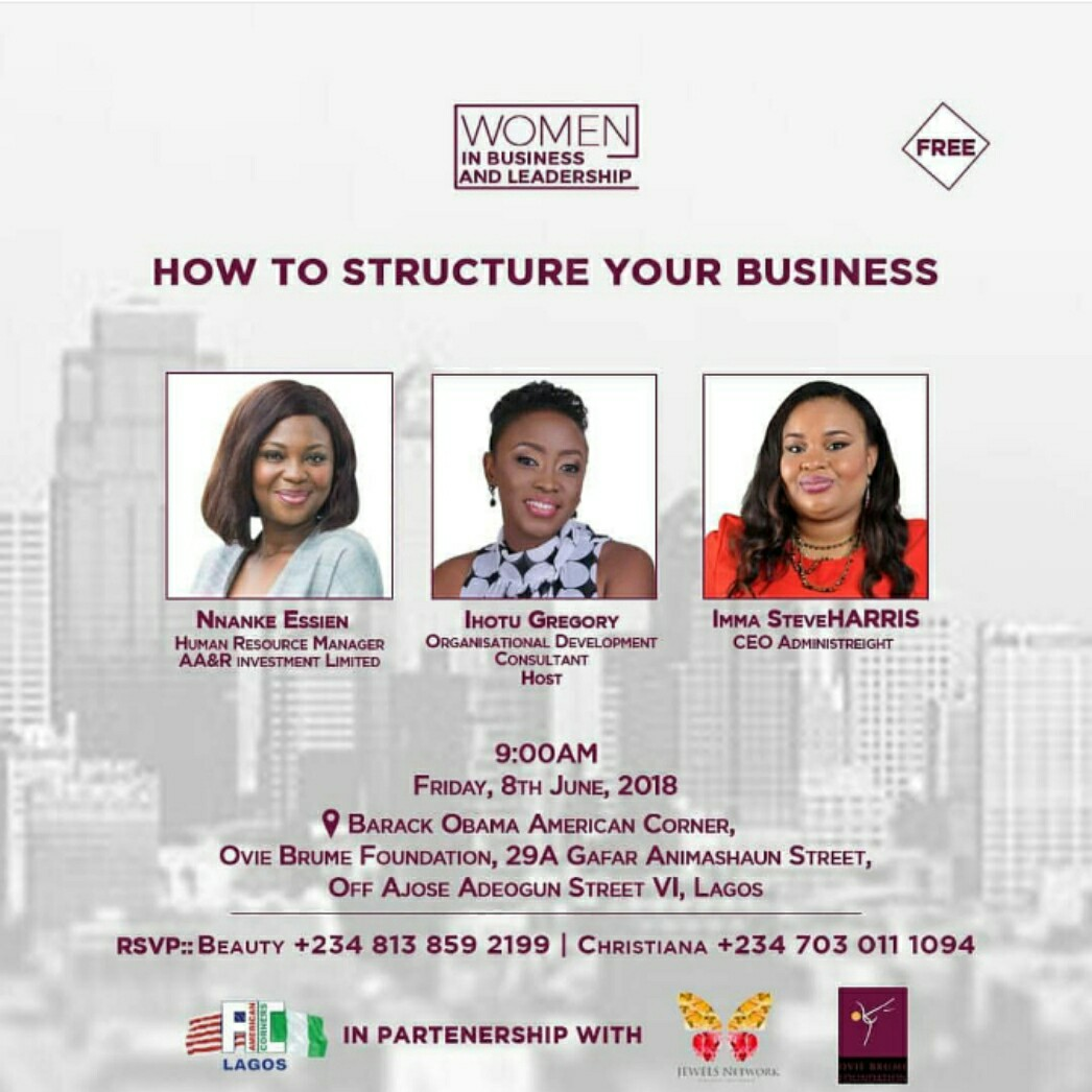 How to structure your business