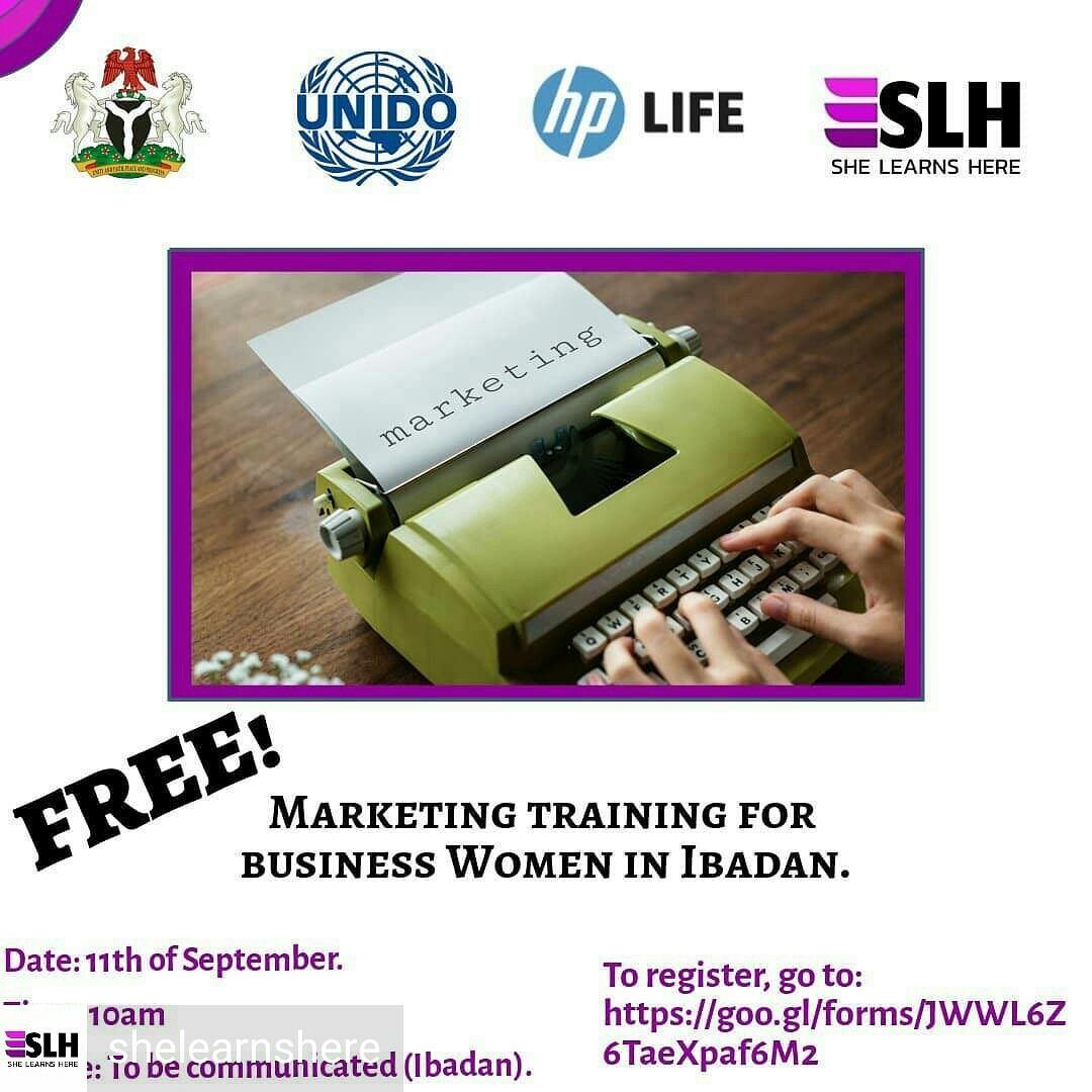 She Learns Here UNIDO HP-LIFE training