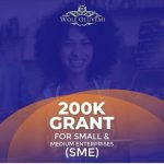 200k grant for small and medium enterprises by Wole Oluyemi