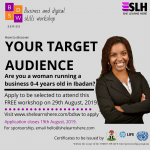 Business and Digital Skills series: Your Target Audience
