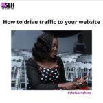 How to drive traffic to your small business website in Nigeria